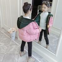 韩版儿童洋气短款小女孩保暖棉袄女童冬装面包服