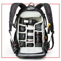 影包双肩多功能单反相机包专业尼康佳能防水摄像背包