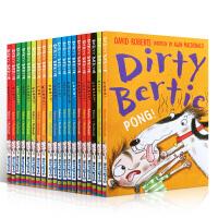 脏男孩波迪 Dirty Bertie系列第1-20部套装 儿童英文原版章节小说 趣味有意思的读物 成长故事:改掉坏习惯 幽默爆笑 章节桥梁书