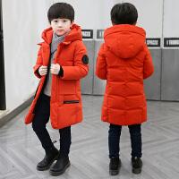 童装男童棉衣冬装中长款外套小孩儿童中大童韩版