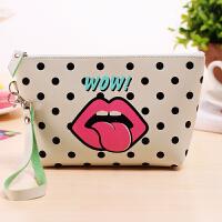 【3折到手价16】茉蒂菲莉 化妆包 创意子母化妆包大容量防水收纳包手拿包