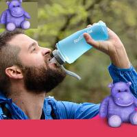 【支持礼品卡】户外硅胶水壶健身运动水杯旅行便携可折叠杯子登山大容量软水袋s3n