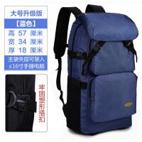 大容量旅行包背包女�p肩包�W生��包男�n版女登山包�敉庑蓍e��X包