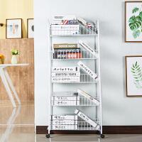 多功能置物架储物架移动推车客厅放书架多层架落地厨房卧室收纳架