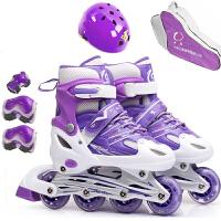 轮滑鞋 儿童轮滑鞋溜冰鞋旱冰鞋儿童全闪套装