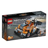 【当当自营】LEGO乐高积木 12月新品 机械组 42104 亮橙色高速赛车 玩具礼物