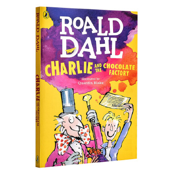 【中商原版】英文原版 Charlie and the Chocolate Factory 查理和巧克力工厂英文读物 罗尔德·达尔作品典藏 进口原版 中小学生英语读物 故事充满了奇幻与想象 罗尔德·达尔系列全球狂销逾1000万册