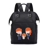 妈咪包双肩包多功能大容量尼龙背包旅行包外出妈妈包时尚母婴包 女孩
