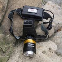 led超亮充电式3000头戴T6手电筒钓鱼米打猎强光防水头灯矿灯
