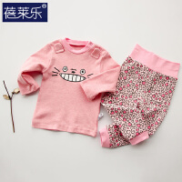 婴儿童套装棉8宝宝爬服5春季衣服01岁3个月春款外出服7新年