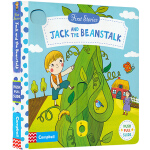 Jack And The Beanstalk 杰克与魔豆 英文原版 first stories busy系列童话篇 纸