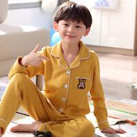 儿童睡衣男童春秋季长袖夏季薄款小男孩中大童卡通家居服套装