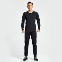 男士速干跑步运动套装两件套晨跑透气宽松健身房训练健身服速干衣