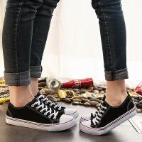 秋季新款男士帆布鞋女情侣鞋韩版经典学生鞋透气布鞋子板鞋女