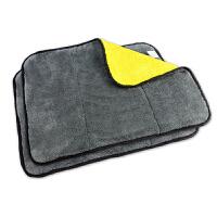 双面加厚车用洗车毛巾吸水抹布汽车专用多功能擦车布不掉毛
