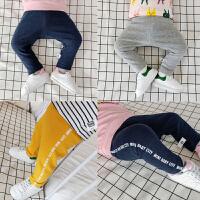 婴儿春秋长裤 宝宝弹力运动打底裤 大PP裤全棉新生儿裤子春款01岁