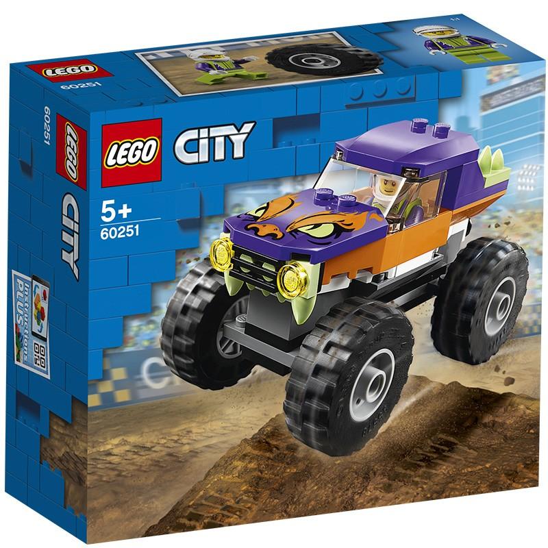 【当当自营】LEGO乐高积木 城市组City系列 60251 巨轮越野车 玩具礼物