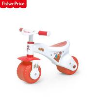【当当自营】费雪FisherPrice婴儿学步车防侧翻滑行车1至3岁童车多功能踏行车 80112(红色)