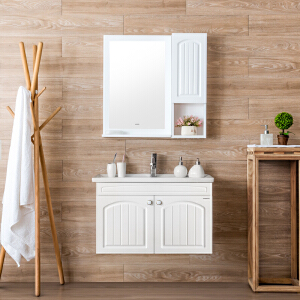 【限时直降】JOMOO九牧卫浴 实木浴室柜组合 洗脸盆洗漱台洗手池多款式A2182
