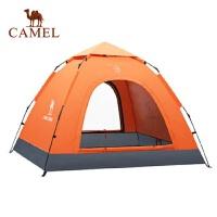 骆驼户外帐篷免搭速开沙滩野外露营野营装备用品全自动3-4人帐蓬