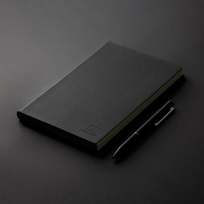 广博加厚记事本商务笔记本文具大学生小清新大号笔记本子创意简约皮面本本子GBP0546