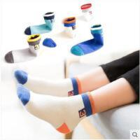 新款儿童袜子女宝宝纯棉秋冬白色中筒袜子学生男孩1-3-5-7-9-12岁