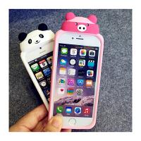 【包邮】智尚 萌系iPhone6手机壳硅胶6S外壳苹果6Plus手机套5/5S卡通情