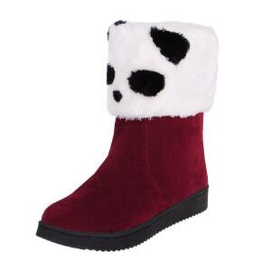 O'SHELL法国欧希尔新品冬季151-075韩版磨砂绒面平跟女士雪地靴