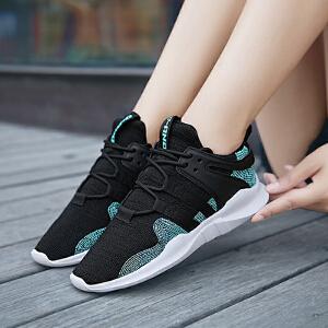 【年终特惠】Q-AND/奇安达2018新款女士轻便减震透气百搭潮流休闲跑步鞋
