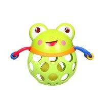婴幼儿童洞洞摇铃手抓软胶球抓握玩具新生宝宝婴儿牙胶 0-12个月