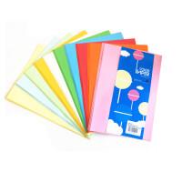 A4彩色纸80克混色装打印复印手工剪纸深浅色美工区材料幼儿园