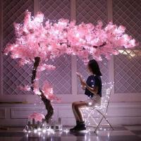 假树仿真樱花树桃花树大型假树新年许愿树定制假树装饰