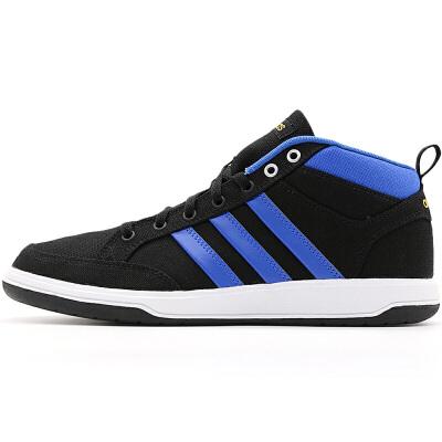 阿迪达斯Adidas AW5064网球鞋男鞋 帆布低帮透气耐磨休闲运动鞋 低帮透气 防滑耐磨