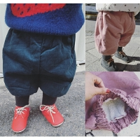20180509075745241宝宝冬装裤子0-1-2-3岁女童加绒加厚婴幼儿童灯笼裤棉短裤灯芯绒