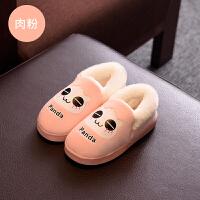 秋冬季可爱卡通男女棉拖鞋包跟室内加绒加厚软底防滑耐磨棉鞋