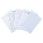 章紫光 信纸本单双线纸数学作业纸语文作文英语学生用16k双线练字