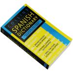 正版现货 柯林斯西班牙语词典 英文原版书 Collins Spanish Dictionary 全英文版进口字典