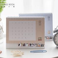 本小姐 2019可爱猫咪台历 创意桌面折叠日历 提醒标注万年历农历