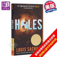 【中商原版】Holes别有洞天 英文原版小说英文版 洞 纽伯瑞奖小说 Louis Sachar少年儿童故事书 获奖图书