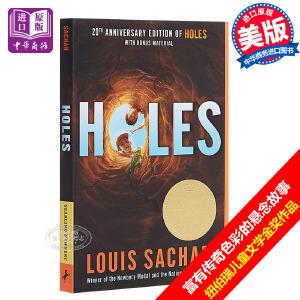 【中商原版】Holes 别有洞天 洞 660L 纽伯瑞奖 英文原版小说 Louis Sachar少年儿童故事书 获奖图书