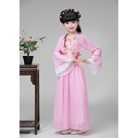 六一儿童古装仙女服汉服女童唐装贵妃公主裙摄影写真服古筝表演服