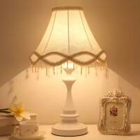 美式台灯卧室床头柜灯现代复古简欧酒店书房客厅温馨浪漫装饰台灯