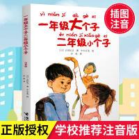 正版 童书一年级大个子二年级小个子注音版 经典儿童文学小说故事读物一二年级小学生课外阅读故事图书幼小衔接老师