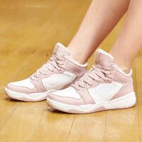 【超品预估价:57】361度女鞋19年新款篮球鞋女时尚休闲运动鞋