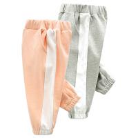 婴儿春秋装女童裤子男宝宝打底裤1岁3个月新生儿长裤秋季装