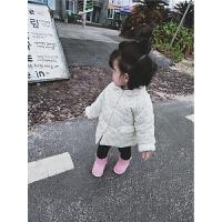 女童棉衣2017新款冬装宝宝时尚外套婴幼儿保暖上衣加厚
