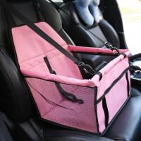 御目 汽车宠物垫 宠物车载网纱挂包透气防水双层外出旅行汽车垫