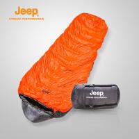 Jeep/吉普 户外羽绒睡袋轻盈加厚防寒保暖野营睡袋J640710002