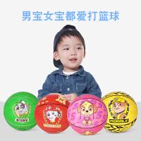 汪汪队小皮球儿童篮球5号宝宝幼儿园比赛专用球类玩具拍拍弹力球