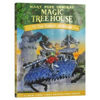 送音频 神奇树屋2迷雾中的骑士 英文原版The Knight at Dawn 美国中小学生课外读物 Magic Tree